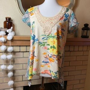 Sundance Bloom Print Top
